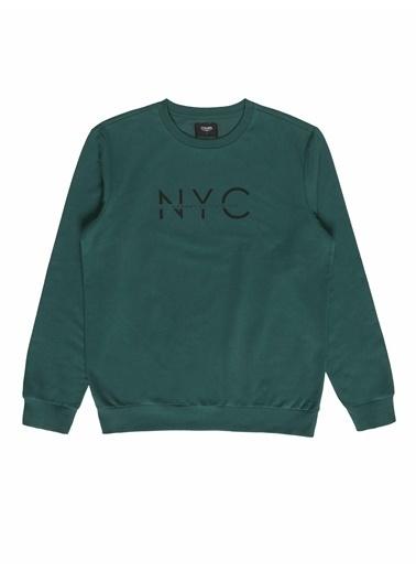 Colin's Erkek Sweatshirt Yeşil